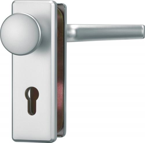 Schutzbeschlag kurz für Eingangstüren