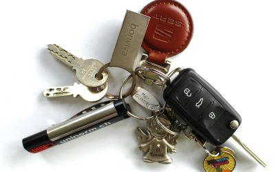 Autoschlüssel, Motorradschlüssel + LKW-Schlüssel mit Transponder